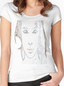 Beauty is in the eyes of the beholder Women's Fitted Scoop T-Shirt