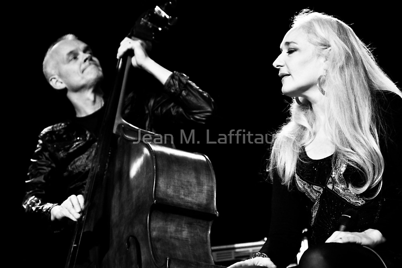Caecilie Norby and Lars Danielsson by Jean M. Laffitau