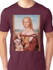 Lady with Giulietta Unisex T-Shirt