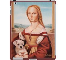 Lady with Giulietta iPad Case/Skin
