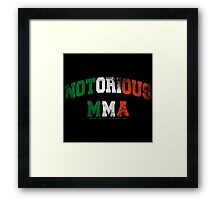 Notorious MMA | Conor McGregor Framed Print