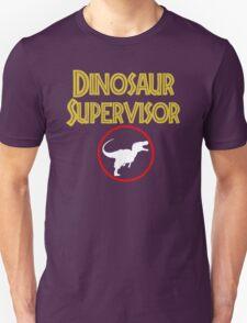 dinosaur supervisor T-Shirt