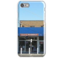 Bladin St Pharmacy iPhone Case/Skin