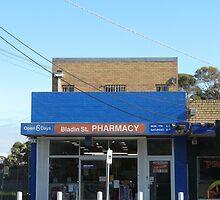 Bladin St Pharmacy by Joan Wild