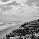 Mantoloking Beach in Black &amp; White by AngieM