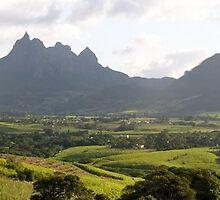 a colourful Equatorial Guinea landscape by beautifulscenes