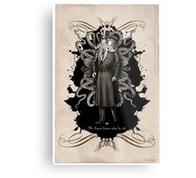 Mr Squid Metal Print