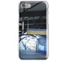 Train Timetable iPhone Case/Skin