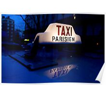 France - Paris 75019 - By night Poster