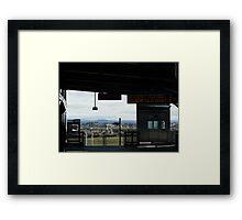 Williams Landing Framed Print
