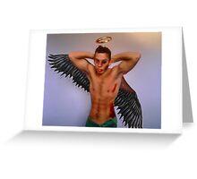 A Fallen Angel - Literally Greeting Card