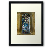 Window #4 - East Witton Church Framed Print