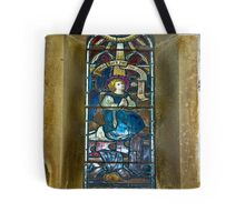 Window #4 - East Witton Church Tote Bag