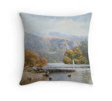 Derwentwater, Cumbria, England Throw Pillow