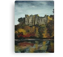 Ludlow castle in England Canvas Print