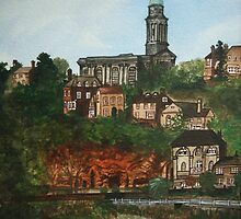 Bridgnorth in England by Kamila  Krizova/Aitchison