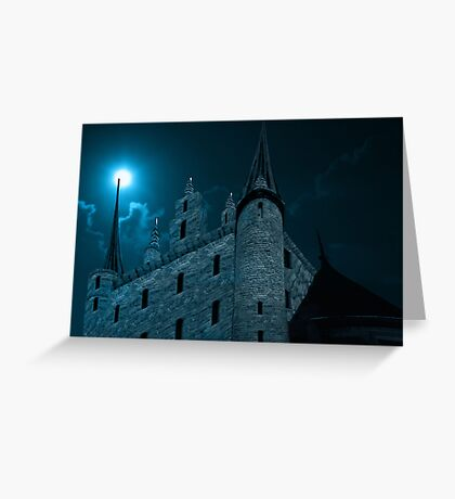 In the night... Greeting Card