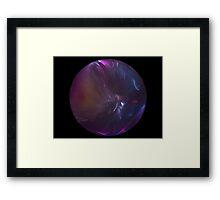 atmospheric Implosion Framed Print