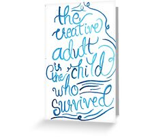 The Child Who Survived Greeting Card
