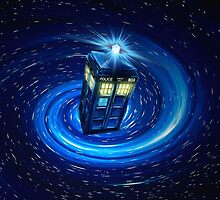 Tardis Vortex by albertjunior