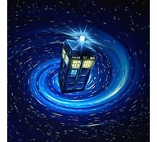 Tardis Vortex Photographic Print