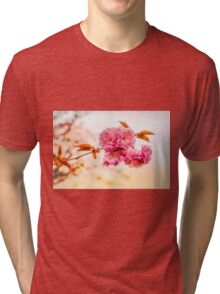 """Spring Blossoms"" Tri-blend T-Shirt"