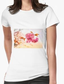 """Spring Blossoms"" Womens Fitted T-Shirt"