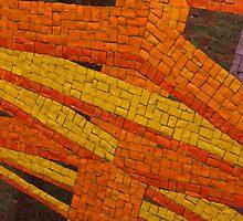 Segment of Glass Tiled Artwork 2 by ElyseFradkin