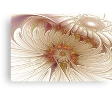 Icy Daisies Canvas Print