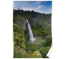 Bridal Veil Falls, Raglan. Poster