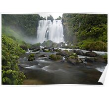 Marokopa Falls, Waitomo. Poster