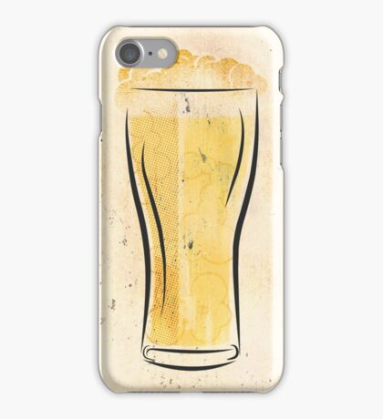 Stylized Beer iPhone Case/Skin
