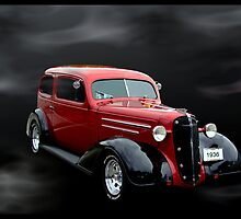 1936 Chevrolet Sedan Hot Rod by TeeMack