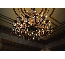 Haunted Mansion Lighting Photographic Print