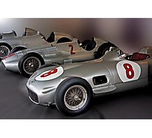 Silver Arrows Photographic Print