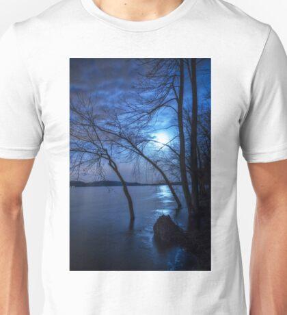 """Spooky Moon"" Unisex T-Shirt"