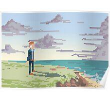 Pixel Suit Poster