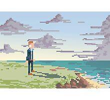 Pixel Suit Photographic Print