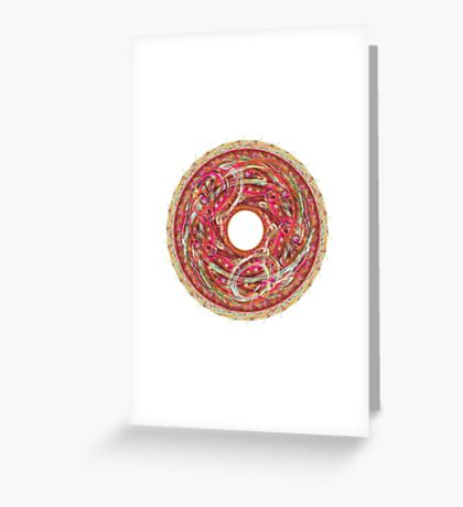 APO No. 9 Crayonoc Pizza/Cacaphony Greeting Card