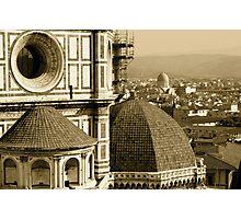 Duomo & Florence! Photographic Print