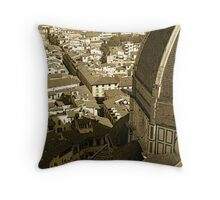 Florence & Duomo Throw Pillow