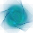APO No. 14 Turquoise Swirl by AlanBennington