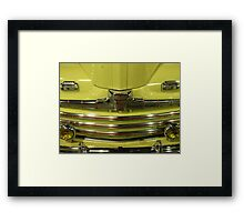 Ford - Mellow Yellow Framed Print