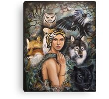 We Are the Wild Canvas Print
