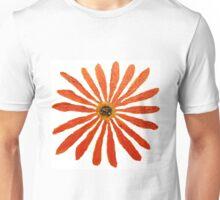 Red Straw Zinnia II Unisex T-Shirt