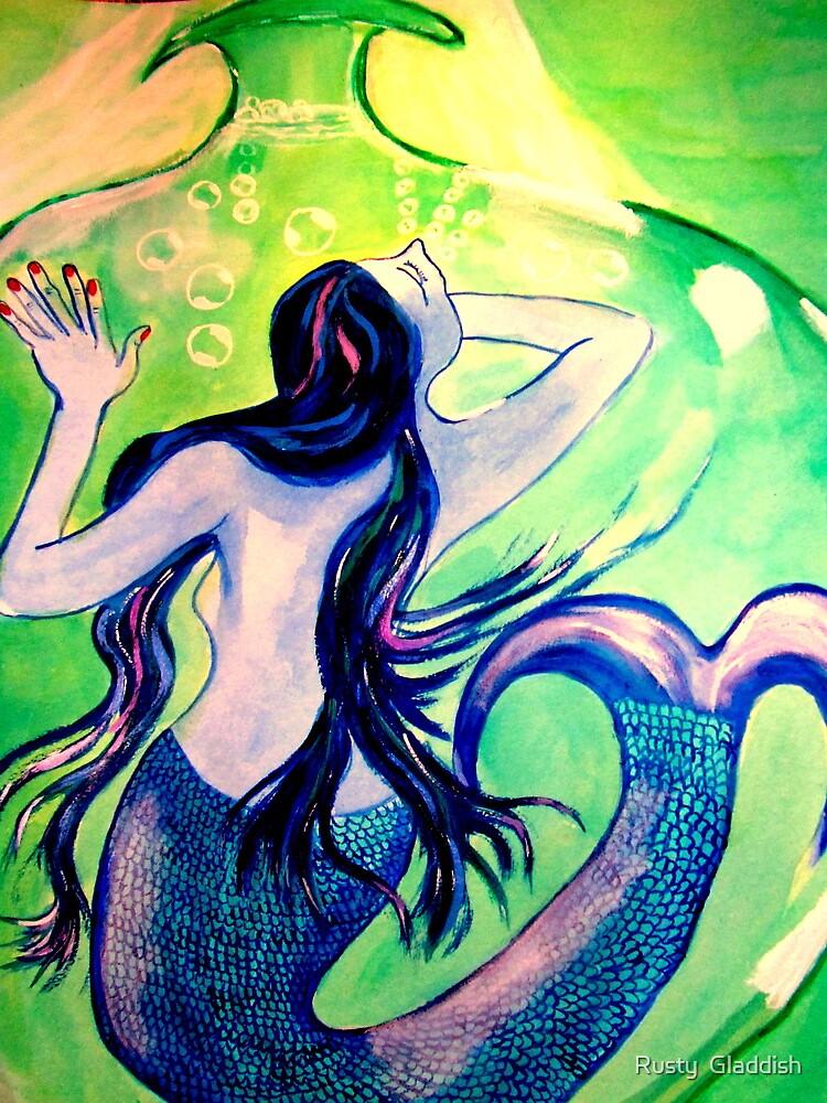 Le cauchemar de la Sirene by Rusty  Gladdish