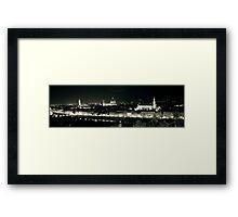 Florence in the dark! Framed Print
