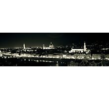 Florence in the dark! Photographic Print