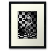 Moves of a pawn Framed Print