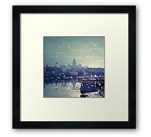 Happy winter to you! Framed Print